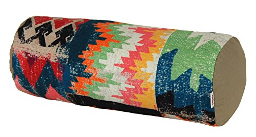 beties Ethno Nackenrollen-Bezug ca. 15x40 cm Baumwolle im Ethno-Style balayage