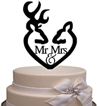 juyue Mr and Mrs Cake Topper Engagement Wedding Party Decorations Bridal Shower Cake Decorations Topper