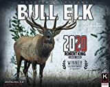 Elk Calendar 2020 of Giant Bull Elk Free 2-3 Day Shipping by The KING Company/Monster Calendars