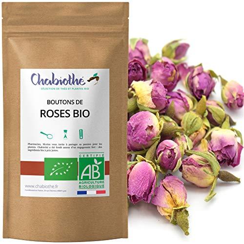 BIO Rosenknospen Rose ganz Tee 100g - getrocknete rosen