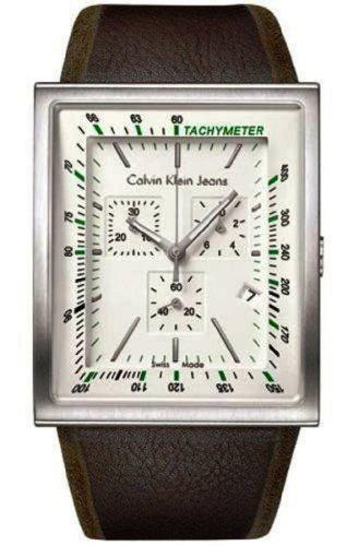 Calvin Klein K4212120 - Reloj analógico de Cuarzo para Mujer con Correa de Piel, Color marrón