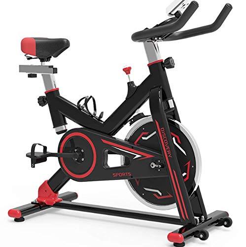 Veilige professionele hometrainer Beste keuze Afvallen Optimaliseren Bodybuilding voor obesitas Fitness Liefhebbers Huisvrouwen, Indoor Mute-apparatuur,Red