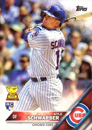 2016 Topps Baseball #66 Kyle Schwarber Rookie Card - His 1st Official Rookie Card!