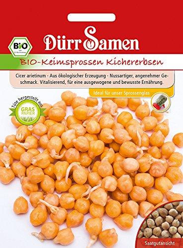 Dürr-Samen 4339 Keimsprossen Kichererbse (Bio-Keimsprossen)