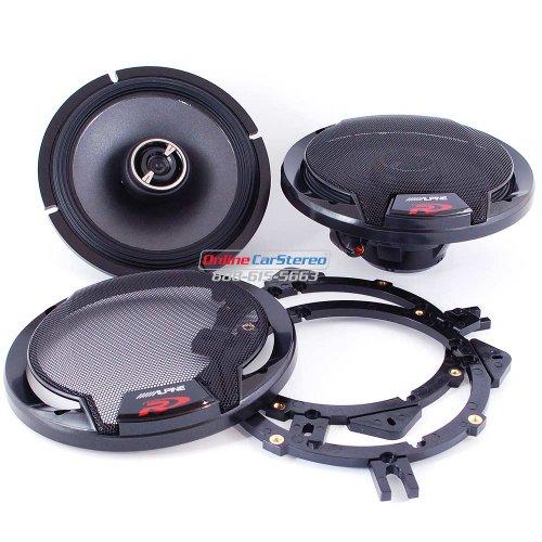 Alpine - SPR-60 - Full Range Car Speakers