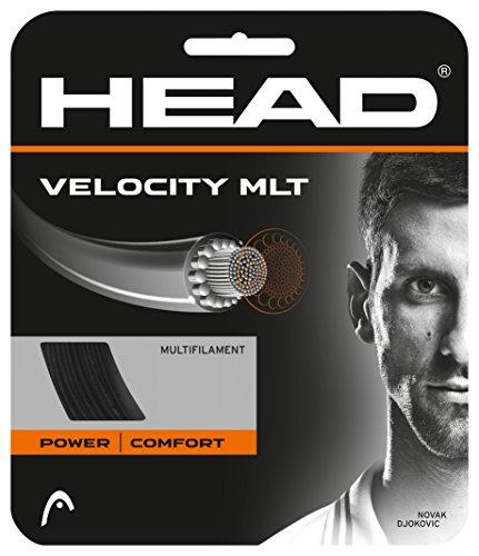 HEAD Velocity MLT Cordage pour Raquette de Tennis Mixte, Argent, 12 m