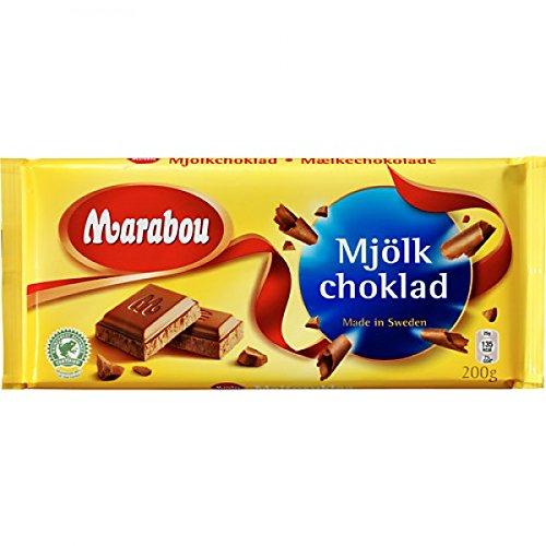 Marabou Mjölkchoklad - Milchschokolade 200g (3er Packung)