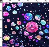 Raumfahrt, Planeten, Weltraum, Sterne, Galaxie, Fabric8