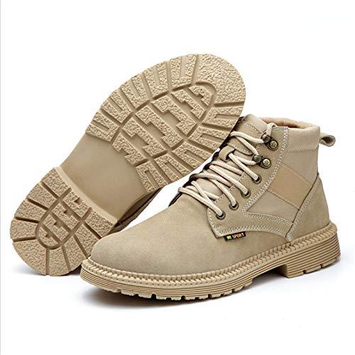 Lufria Zapatos de Seguridad,Zapatos de Trabajo de Seguridad con Puntera de Acero Unisex,Botas Ligeras de Entrenamiento de Seguridad,construcción Industrial