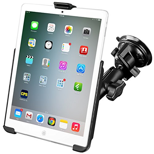 RAM Mount RAM-B-166-AP14U - Soporte (Tablet/UMPC, Soporte pasivo, negro, Aluminio, Compuesto, Ventosa, Apple iPad mini 1, 2, 3)