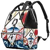 Mochila de viaje de Japón, casual, bolsa de maternidad, bolsa organizadora para biberones de enfermería