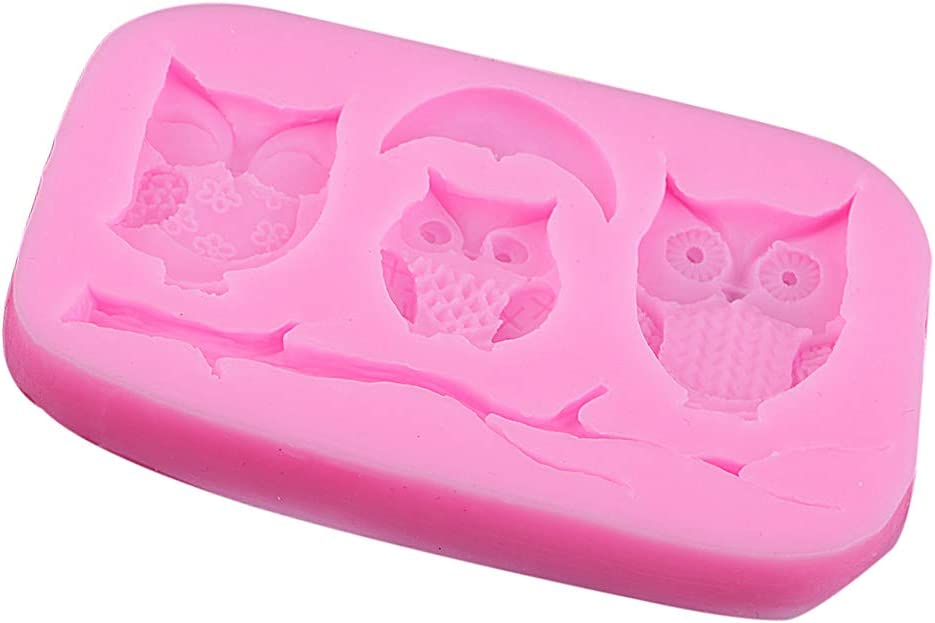 Fityle unisex Cute Owls Chocolate and National products Candy Chocola Baking Mold Soap