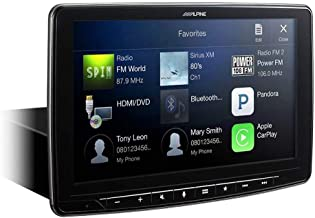 "Alpine iLX-F309 HALO9 9"" AM/FM/audio/video Receiver w/ 9-inch Touch Screen and.."
