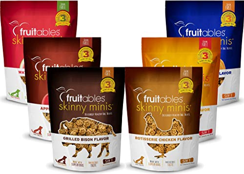 Fruitables Skinny Minis Variety Pack - 1 of Each Flavor 6 Bags Total