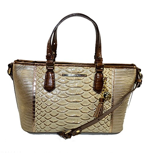 NEW AUTHENTIC BRAHMIN SMALL MINI ASHER CARRYALL TOTE (Ray Artemisa)