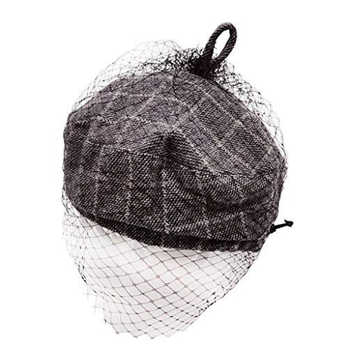 Chapeau de basque pour enfant - Pour l'automne et l'hiver - Chaud - Confortable - Respirant