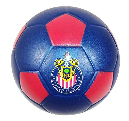 Foamheads Mini Indoor Outdoor Soccer Ball​ - MLS Licensed Chivas USA.