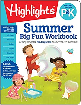 Summer Big Fun Workbook Bridging Grades P & K  Highlights Summer Learning