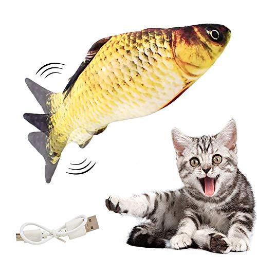 clasificación y comparación Juguetes eléctricos para peces con hierba gatera, juguetes móviles eléctricos para peces, juguetes para gatos, … para casa