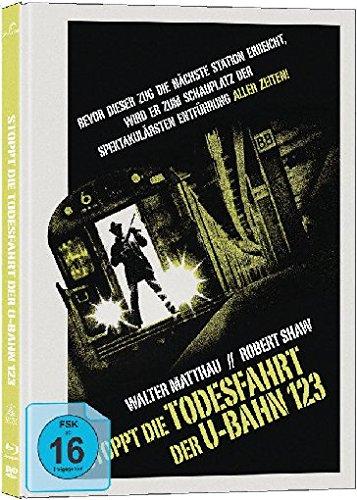 Stoppt die Todesfahrt der U-Bahn 1-2-3 - Mediabook/Limited Collector's Edition auf 333 Stück (+ DVD) [Blu-ray]