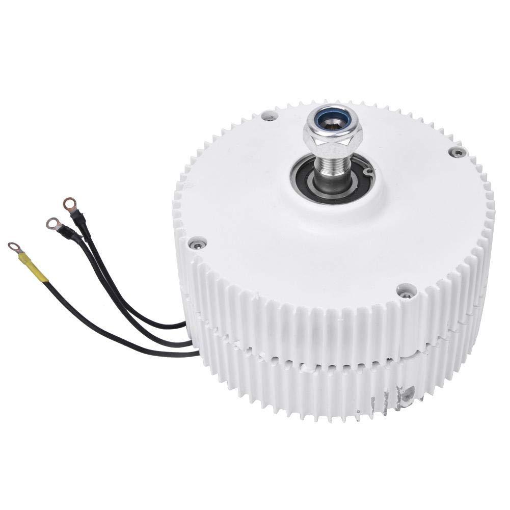 Motor Generador Síncrono, Generador de Imán Permanente de Turbina Eólica 24V 400W Alternador Síncrono Trifásico NE-400(Generator)