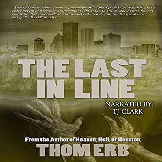 The Last in Line audiobook cover art
