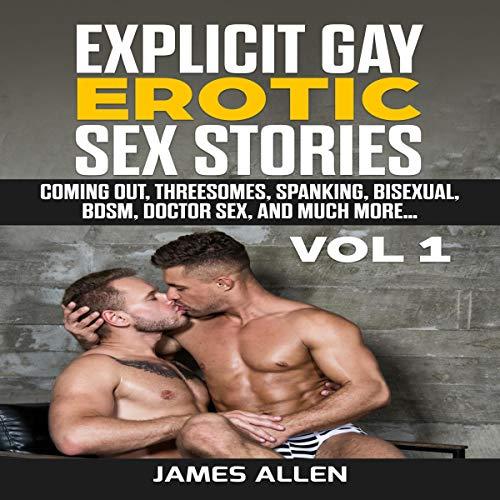 Explicit Gay Erotic Sex Stories, Vol 1 cover art