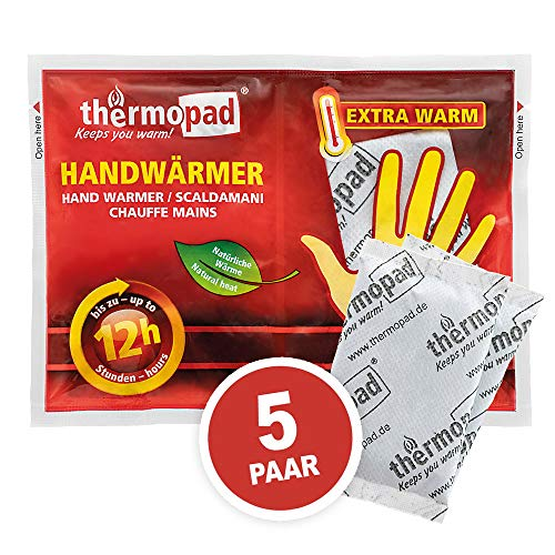Thermopad Unisex– Erwachsene Handwärmer, Weiß, Alle Größen