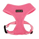 Pink Soft Dog Harness by Puppia, Several other colors and sizes
