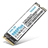 NVMe 512GB SSD- 3D NAND Flash PCIe Gen3.0X 4 M.2 2280 Internal Solid State Drive for Laptop, Ultrabooks, Desktop Computer (512GB)