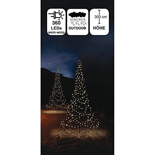 LED-Weihnachtsbaum 360 LED warm-weiß; 300 cm Kunstbaum Weihnachten