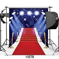 sjoloon 10x 10ftレッドカーペットビニール写真バックドロップカスタマイズ写真背景Studio Prop 10500