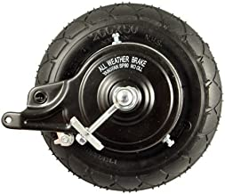 Razor E200 Rear Wheel Assembly (V36+) - Factory Original Razor Scooter Replacement 200x50 Rear Wheel - E200S / E225 - Part W13112430048