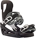 Burton Cartel EST Snowboard Bindings Mens Sz M (8-11) Black/White