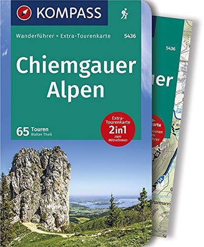 KOMPASS Wanderführer Chiemgauer Alpen: Wanderführer mit Extra-Tourenkarte 1:35.000, 65 Touren, GPX-Daten zum Download