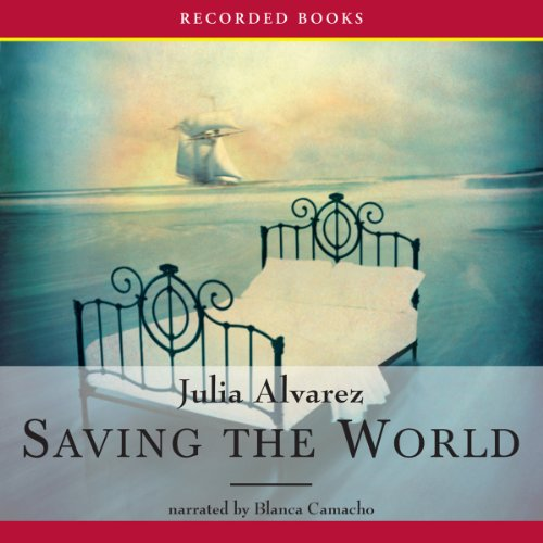 Saving the World audiobook cover art