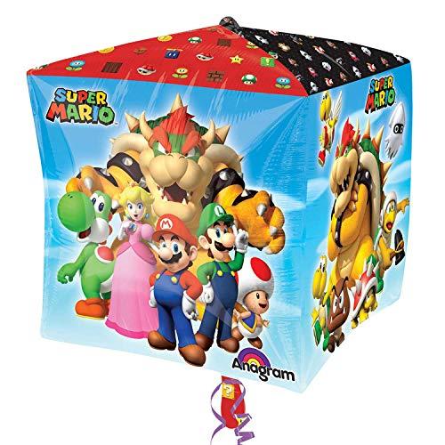 Amscan 3201201 15 x 15 inch Super Mario Bros Cubes Decoratieset