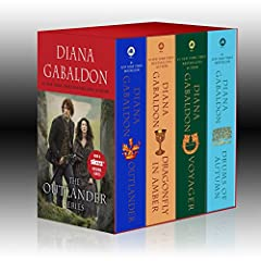 Outlander Boxed Set Outlander Dragonfly in Amber Voyager Drums of Autumn