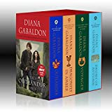 Outlander 4-Copy Boxed Set - Outlander, Dragonfly in Amber, Voyager, Drums of Autumn.