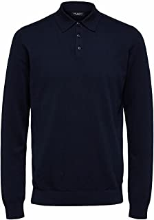 SELECTED HOMME Male Pima Pull en coton