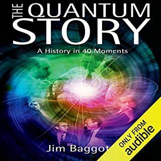 The Quantum Story audiobook cover art
