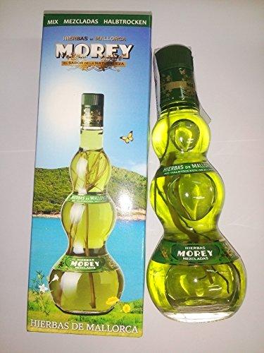 Licor Hierbas de Mallorca Mezcladas Morey 20cl x 1 Botella con caja