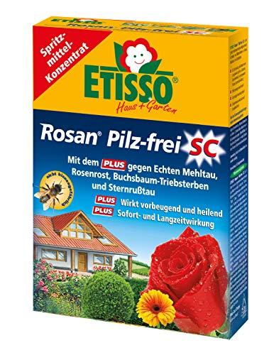 ETISSO® 1264-787 Rosan® Rosen- und Zierpflanzen Pilz-frei SC 50 ml für bis zu 20 Liter Rosenschutz