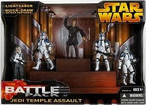 Star Wars: Episode 3 Battle Packs Jedi Temple Assault Action Figure Multi-Pack