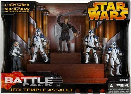 Hasbro JediTemple - Pack de Batalla de Star Wars: Amazon.es ...