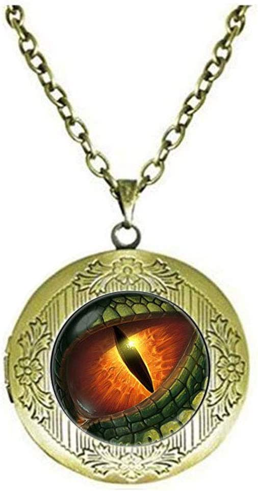 Discount mail order Dragon Eye Popularity Locket Necklace