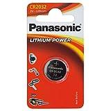 PANASONIC CR 2032 Lithium Pile bouton 3V PU: 1 pièce