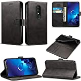 Case for Alcatel 3 / 3L (2019), Leather Magnetic Closure