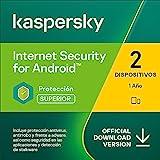 Kaspersky Internet Security para Android | 2 Dispositivos 2 Móviles | 1 Año | Android | Código de activación vía correo electrónico