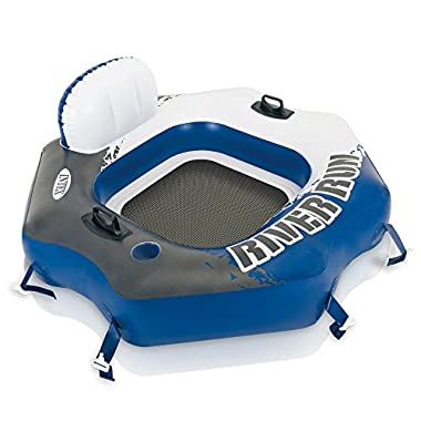 Intex River Run Connect Lounge, Inflatable Water Float, 51  X 49.5
